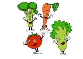 Happy veggies