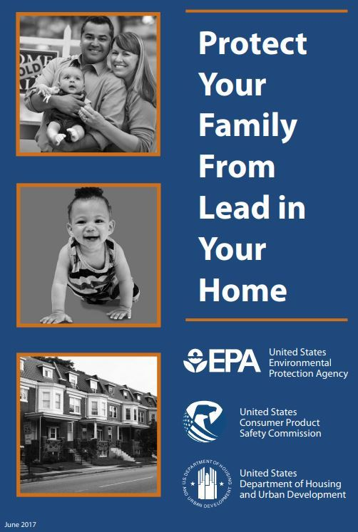 EPA Lead brochure cover